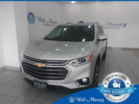Pre-Owned 2019 Chevrolet Traverse LT Leather