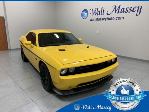 Pre-Owned 2012 Dodge Challenger SRT8 392